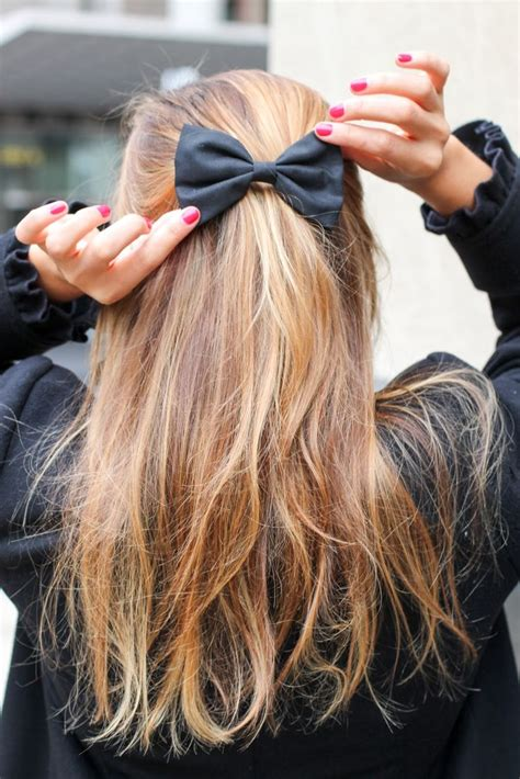 A With Hair by 25 Best Ideas About Bow Hairstyles On Bow