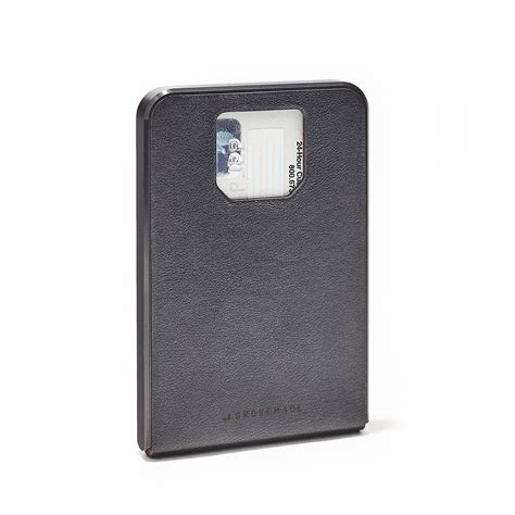 Ipad Wood Stand by Minimalist Wallet Leather Steel Amp Anodized Aluminum