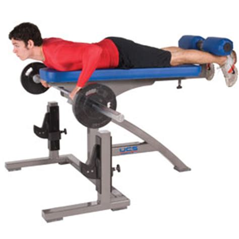Adjustable Prone Row Bench  Ucs Strength And Speed