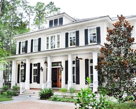 Colonial Front Porch Designs by Colonial Front Porch With Columns And Fans Front Door