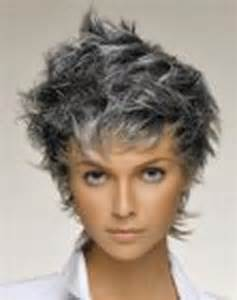 Short Hairstyles for Women with Gray Hair