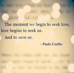 The Alchemist Paulo Coelho Quotes On Love. QuotesGram