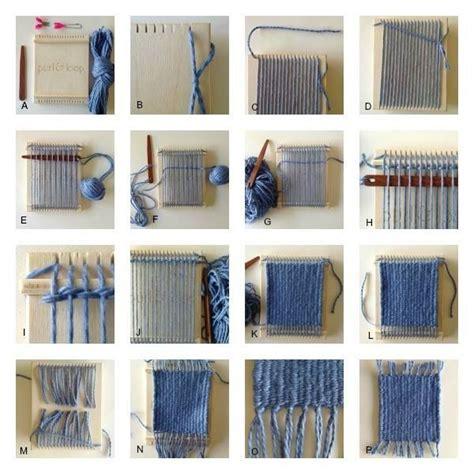 purl loop handmade wood mini weaving looms