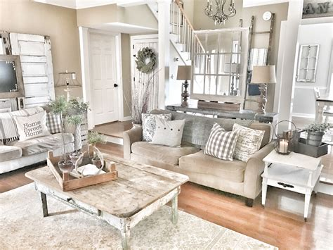 Living Room Decor Fixer farmhouse and rustic living room fixer style ig