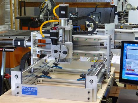 pdj pilot pro cnc router kits parts plans assembled  printing prototyping woodworking projects