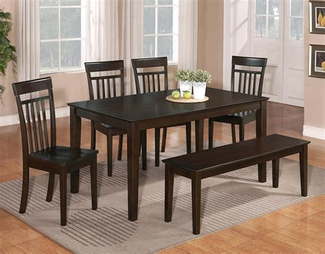 solid oak dining room table sets chairs ebay 6 pc dinette kitchen dining room set table w 4 wood chair