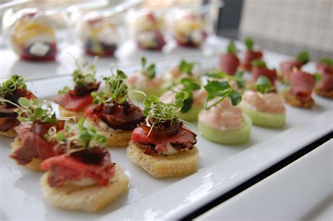 house canapé weddings at powerscourt house weddings at powerscourt