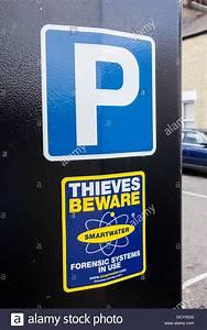 Thieves Beware Sign Stock Photos Thieves Beware Sign