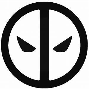 Deadpool Deadpool Logo Silhouette Decal