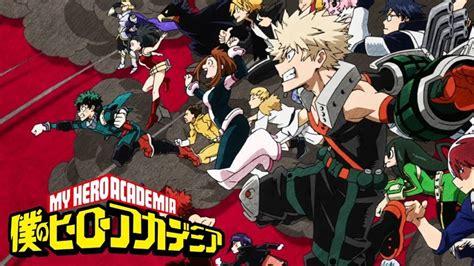 boku  hero academia season  release date plot