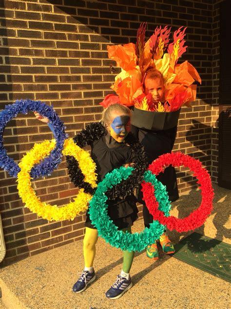 dyi olympic costumes disfraces carnaval grupos juegos