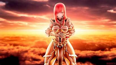 Fairy Erza Tail Anime Scarlet Warrior Wallpapers