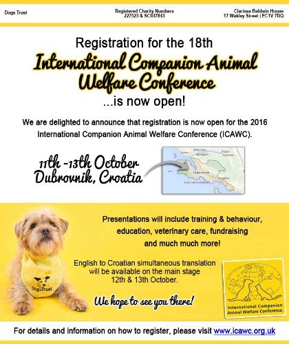 international companion animal welfare conference icawc