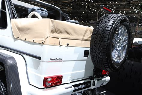 Maybach G 650 Landaulet Salon De Genve 2017