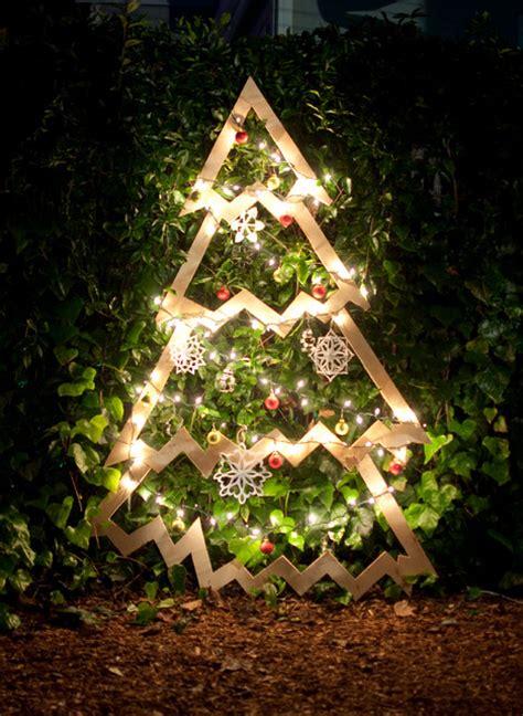 diy build   plywood christmas tree  janet paik