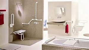 Aide Pour Amenagement Salle De Bain Personne Agée : une salle de bains accessible tous personnes g es ~ Melissatoandfro.com Idées de Décoration