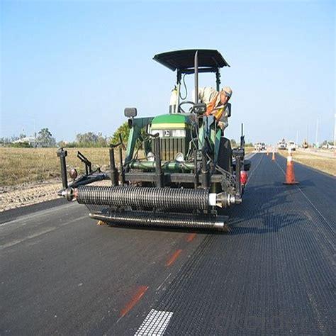fiberglass polypropylene geogrid roadbed reinforcement