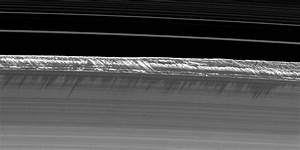 Saturn's Rings Contain Soaring Towers Of Ice | Gizmodo ...