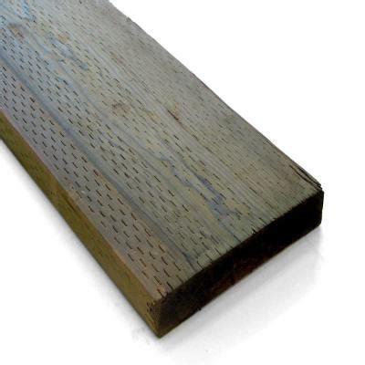 pressure treated deck boards home depot 1 in x 6 in x 8 ft pressure treated board 767168 the