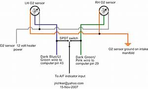 Ford Oxygen Sensor Wire Diagram