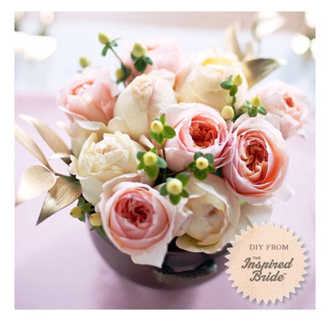 garden rose do it yourself centerpiece