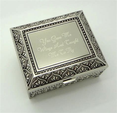 personalized jewelry box engraved   antique jewelry box bridesmaid  flower girl gift