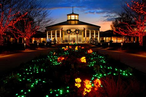 top  christmas towns  north carolina