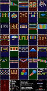 Arkanoid Background Only Map