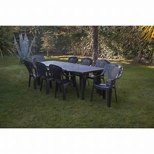 Salon Jardin Auchan : table de jardin 8 personnes avec les meilleures collections d 39 images ~ Teatrodelosmanantiales.com Idées de Décoration