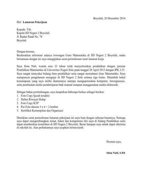 resume untuk guru sandaran contoh surat lamaran kerja guru matematika ben