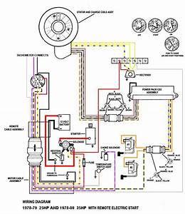 Mercury Outboard Wiring Diagram Schematic