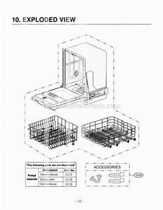 Lg Ldf6920bb Parts List And Diagram