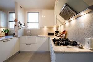 buffet de cuisine blanc laque of cuisine equipee blanc With cuisine equipee blanc laquee