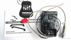 2019 Fishman Presys Blend 301 Dual Mode Guitar Preamp Eq
