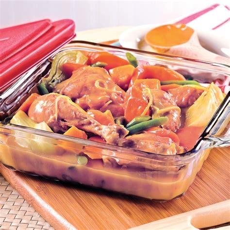 plat cuisiné à congeler cuisses de poulet au citron et légumes d 39 automne recettes cuisine et nutrition pratico