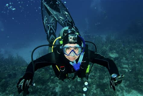 musings  scuba diver portrait photography
