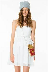 Tally weijl white dress