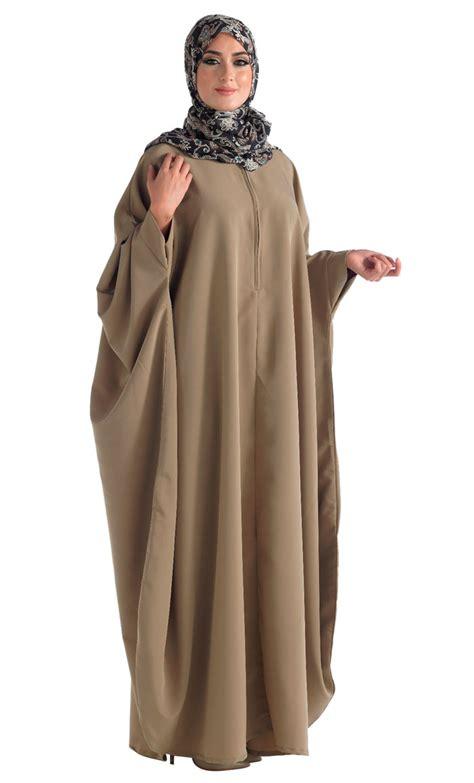 Gamis Lebaran Wanita 10 model baju lebaran untuk wanita muslim gemuk