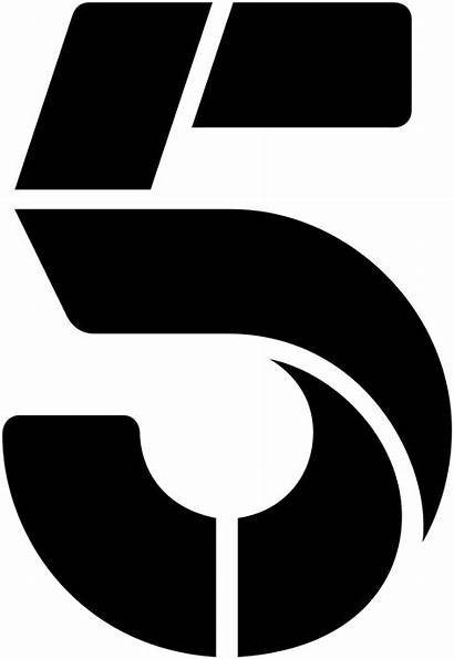 Channel Five Svg Wikipedia Logos Channel5 Transparent