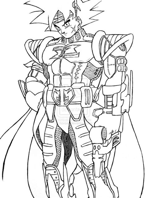 Goku Kleurplaat by Bardock Coloring Pages Coloring Home