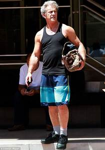 Mel Gibson, 58, shows off his bulging biceps after ...