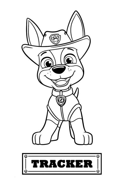 paw patrol coloring pages  printable coloring page