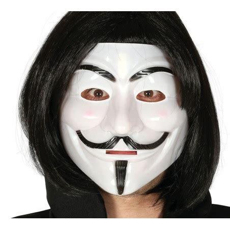 Plastikowa maska Anonymous