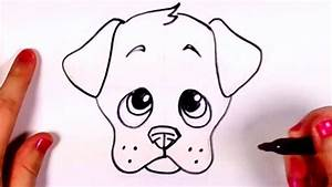 how to draw a realistic dog step by step for beginners ...