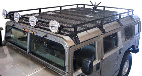 safari roof rack predator inc hummer h1 safari basket roof rack