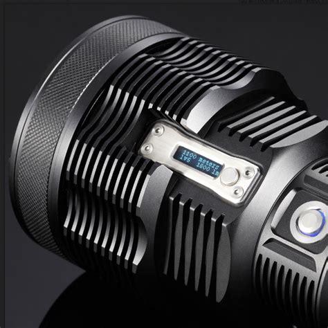 le torche nitecore rechargeable tm36 1800lumens le torche longue port 233 e ultra puissante