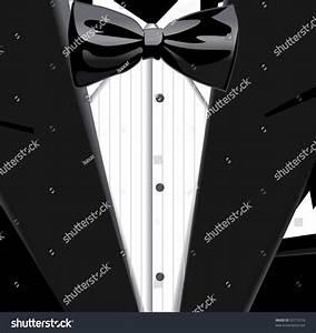 Vector Illustration Of Suit And Bow Tie - 52115518 ...