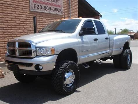 purchase used 2005 dodge ram 3500 cab dually lifted 5 9l cummins diesel 4x4 in