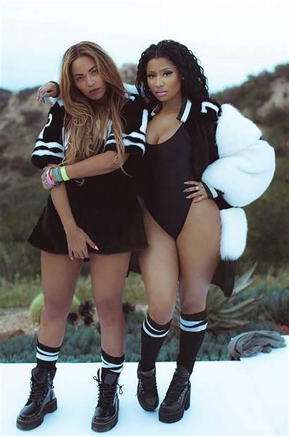 Beyonce Nicki Minaj Myself Feeling Wear Mtv