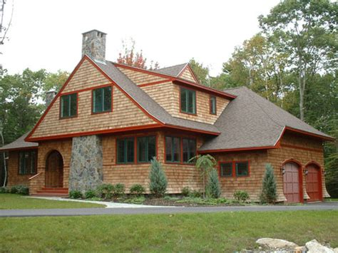 New England Beach Cottage House Plans
